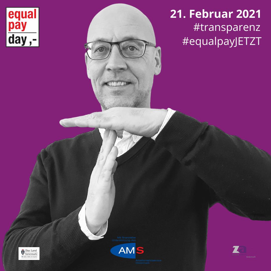 Equal Pay Day Mitmachkampagne - ZAM Steiermark